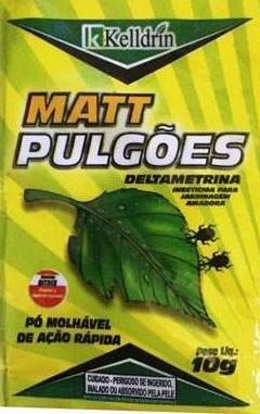 Matt Pulgões - 10 gr